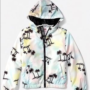 🌴Justice size 8 NWT jacket w/bag